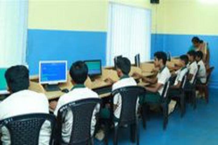 Al Ameen Public School-Computer Lab