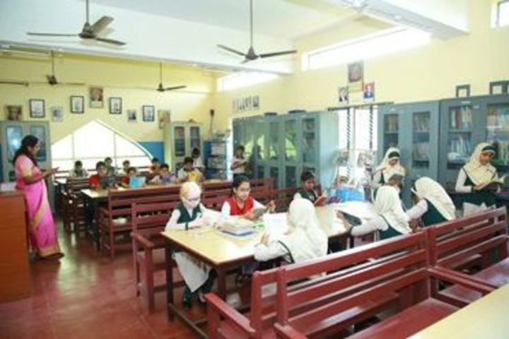 Al Ameen Public School-Library