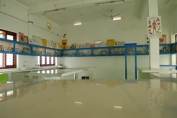 Al Falah English School-Biology Laboratory