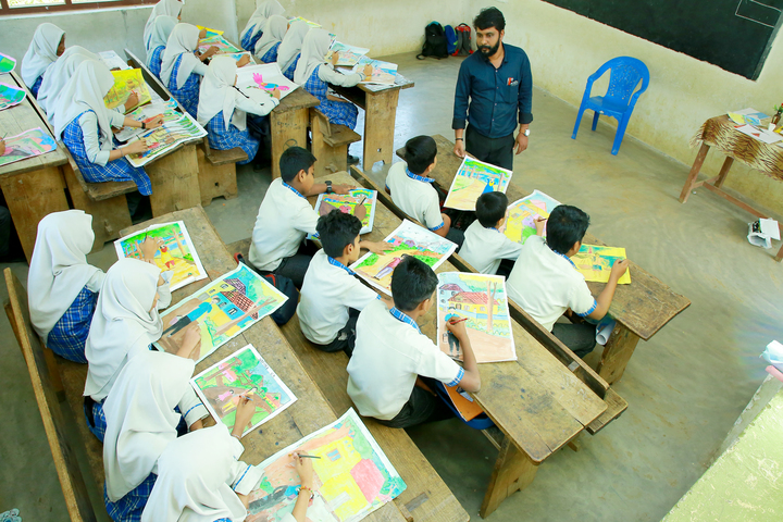 Al Falah English School-Drawing