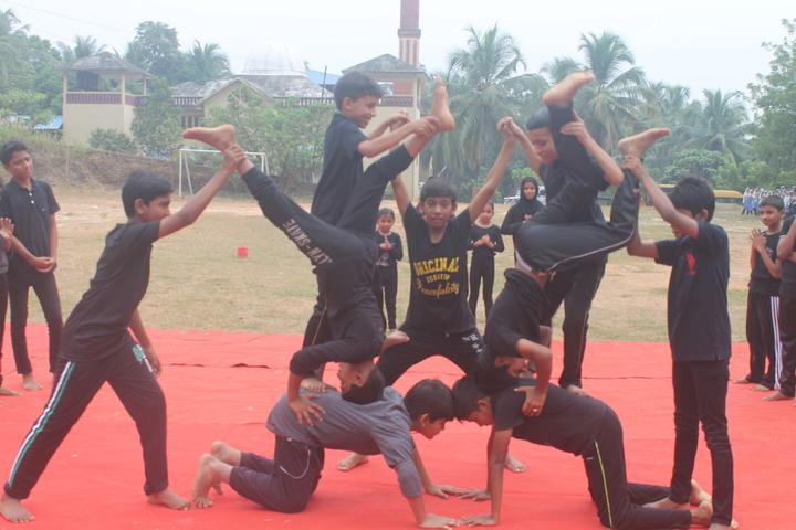 Al Falah English School-Yoga