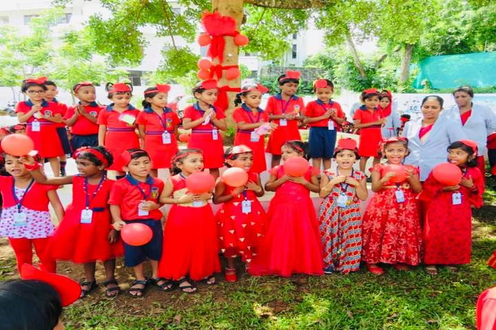 Al Hind Public School-Red Day