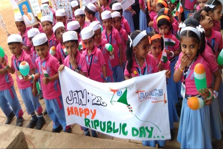 Al Maquar English Medium School-Republic Day Celebrations