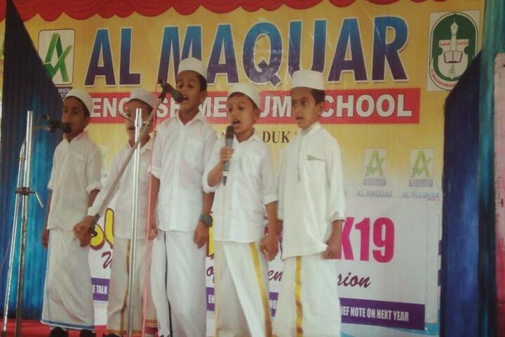 Al Maquar English Medium School-Singing