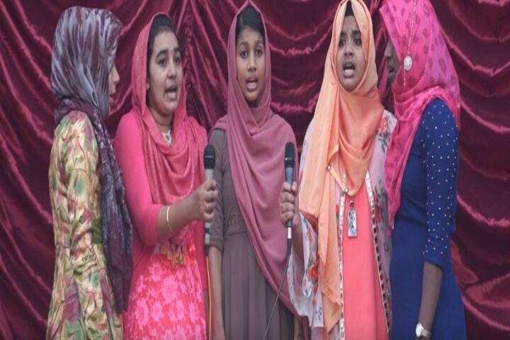 Al Amal Public School-Singing