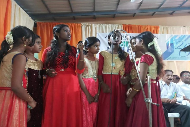 Al Ameen Central School-Singing