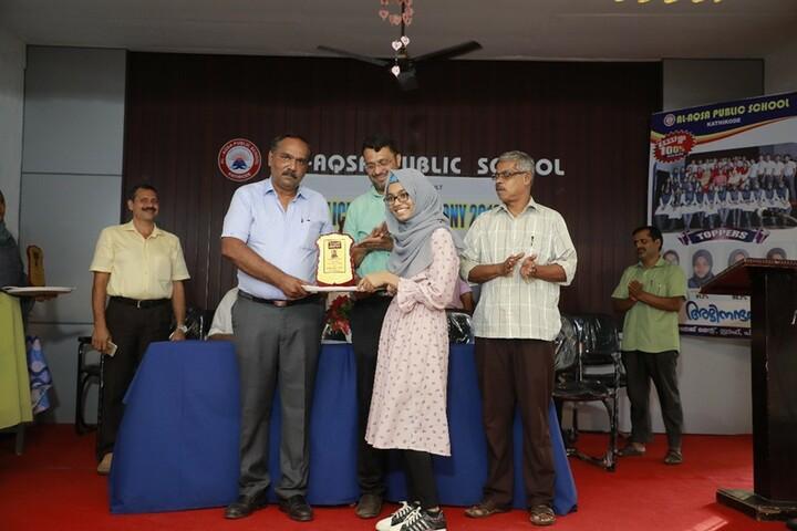 Al Aqsa Public School-Award