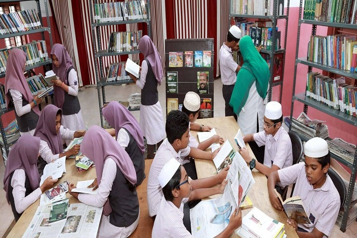 Al-Hidayath English Medium School-Library