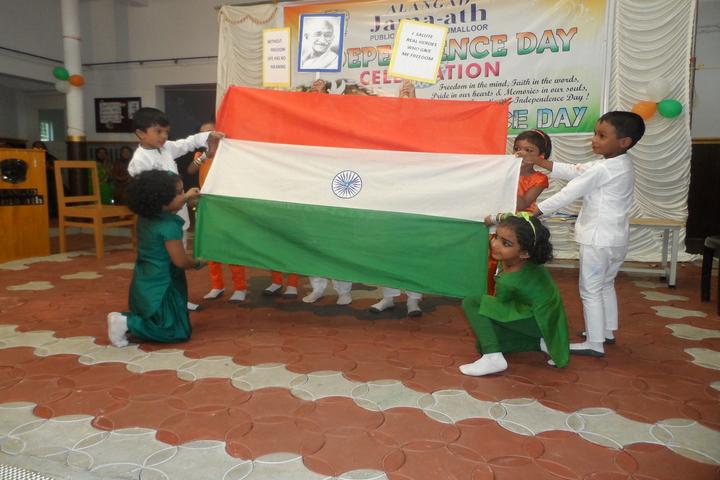 Alangad Jama Ath Public School-Independence Day