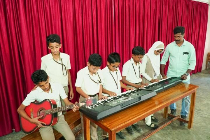 Alhuda Public School-Music Room