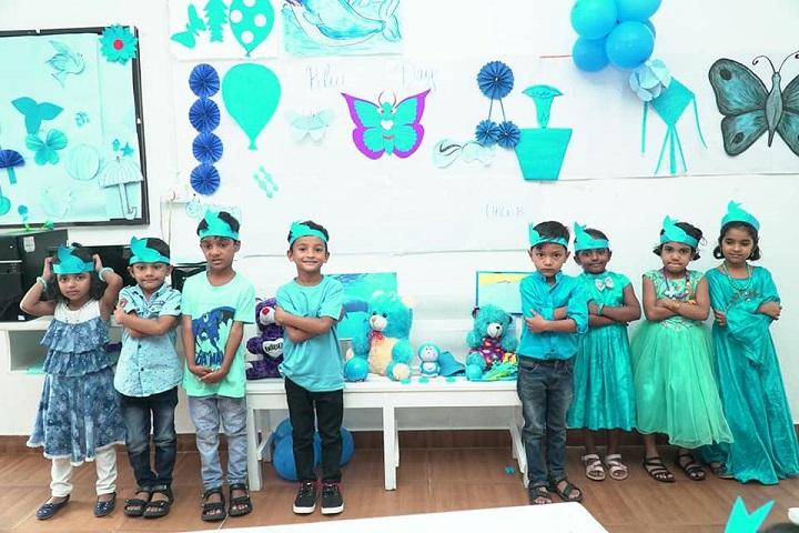 Alhuda Public School-Blue Day