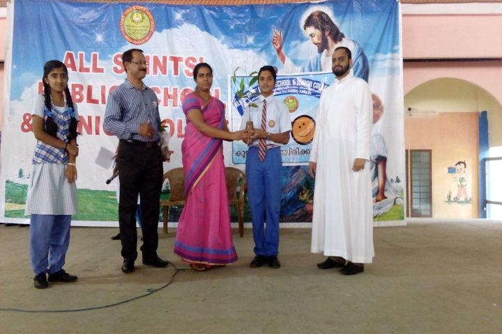 All Saints Public School-Awards