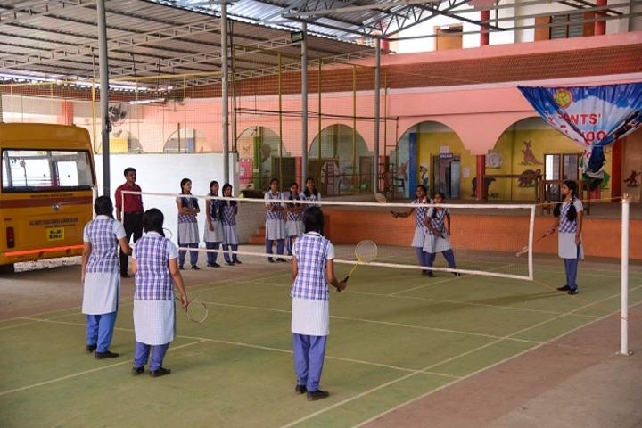 All Saints Public School-Indoor Games