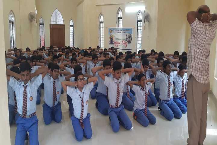 All Saints Public School-Yoga
