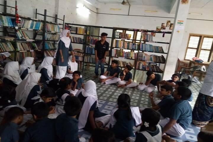 Alpha Public School-Library