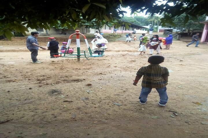 Alpha Public School-Play Area