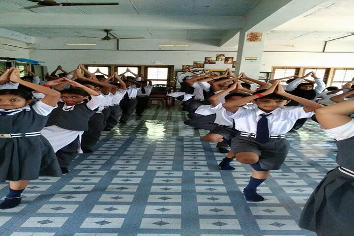 Alpha Public School-Yoga