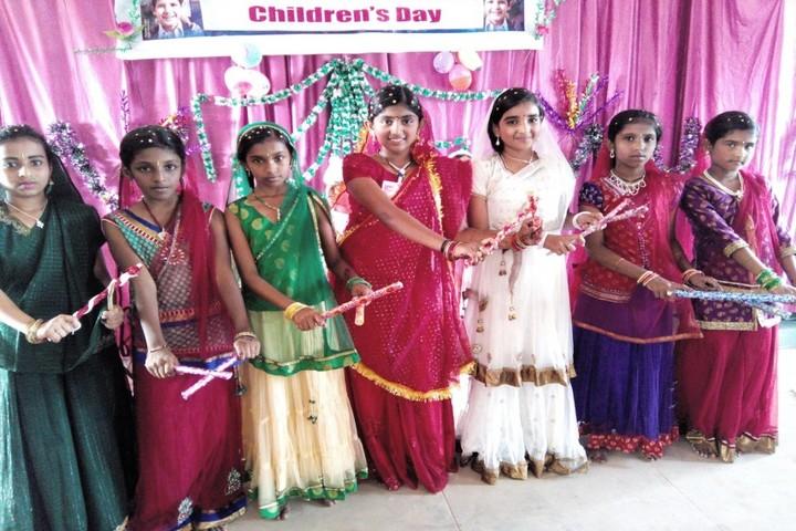 Alphonsa Central School-Childrens Day