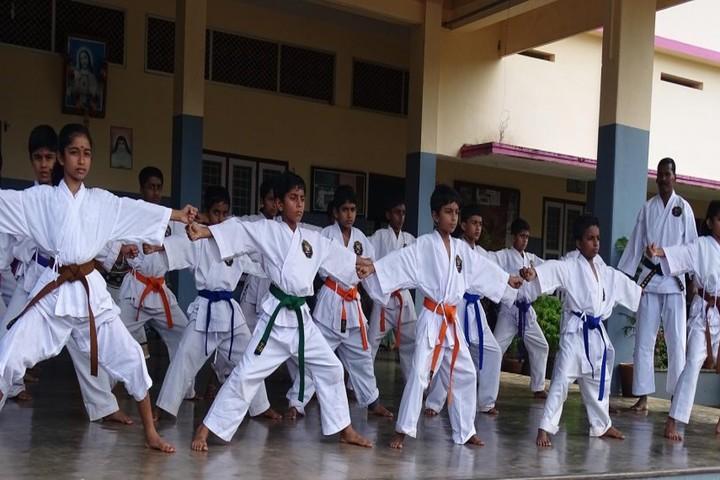 Alphonsa Central School-Karate