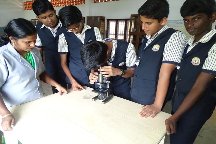 Alphonsa Central School-Laboratory