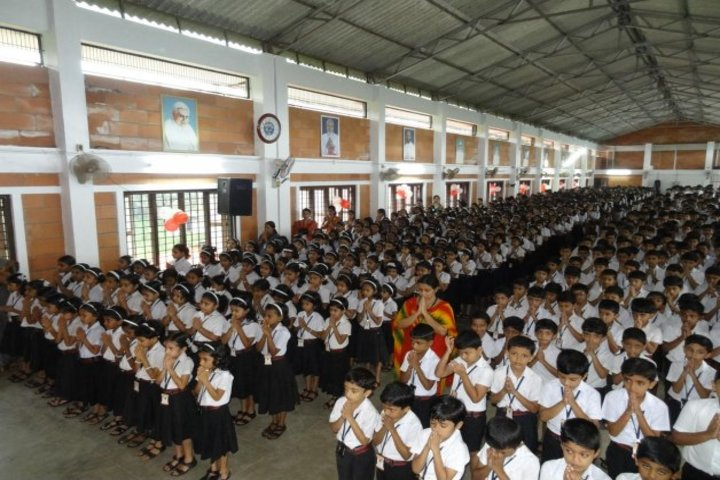 Alphonsa English Medium School-Assembly
