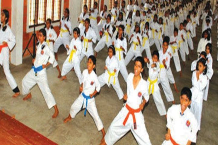Alphonsa English Medium School-Karate