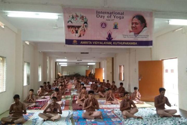 Amrita Vidyalayam-Yoga