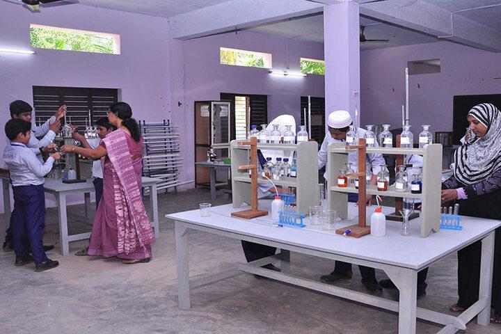 Andulus Public School-Chemistry Lab