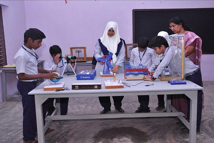 Andulus Public School-Science Lab