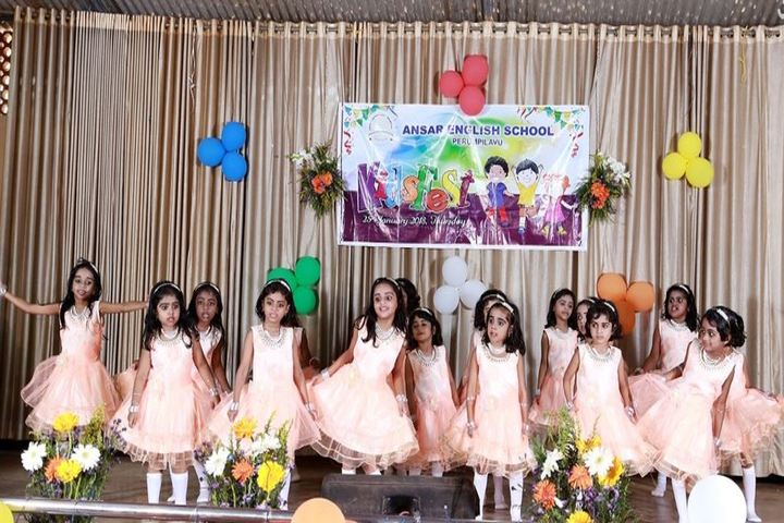 Ansar English School-Dances