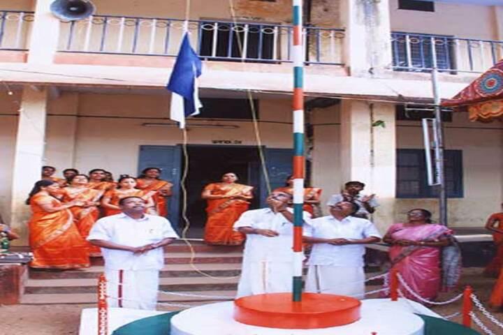 Aravukad Sreedevi English Medium Secondary School-Flag Hosting