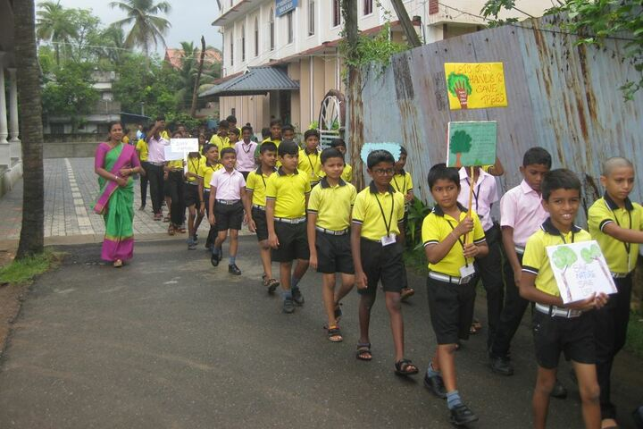 Archbishop Attipetty Public School-Environmental Day Celebrations