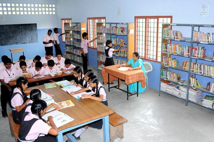 Archbishop Attipetty Public School-Library