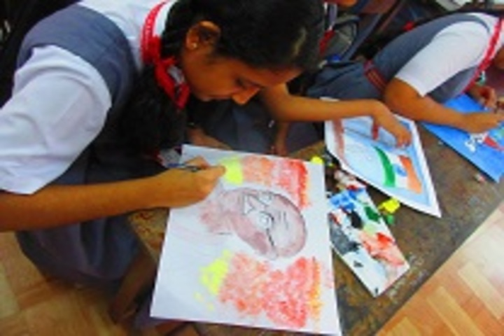 Army Public School-Drawing Activity