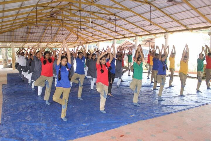 Army Public School-Yoga Day