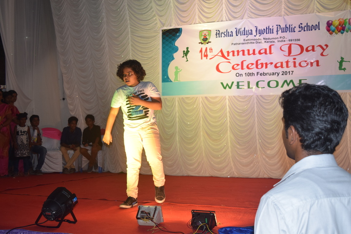 Arsha Vidya Jyothi Public School-Annual Day Dance Performance