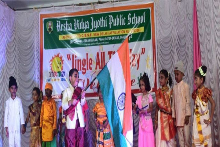 Arsha Vidya Jyothi Public School-Fancy Dress