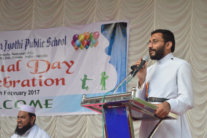 Arsha Vidya Jyothi Public School-Speeches