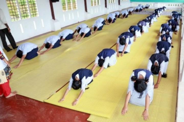 Arvinda Vidyamandiram-Yoga Day