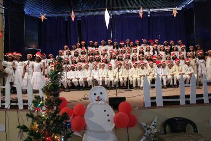 Arya Central School-Christmas Day