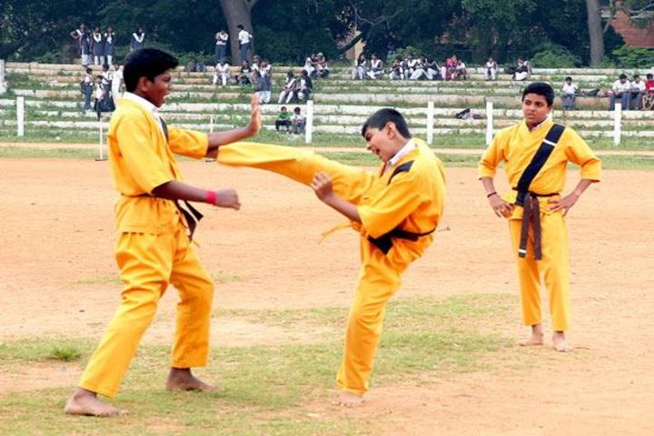 Arya Central School-Martial Arts