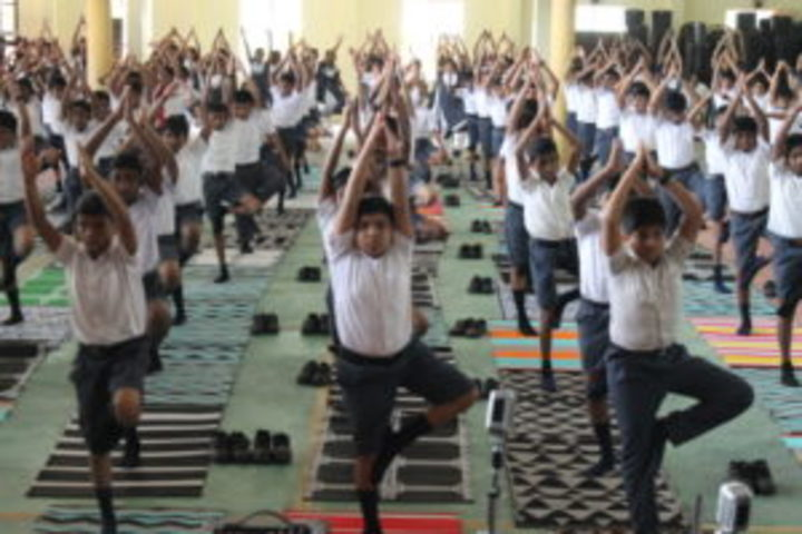 Arya Central School-Yoga