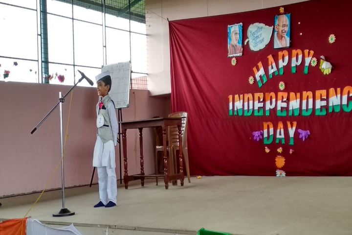 Assisi English Medium School-Independence Day