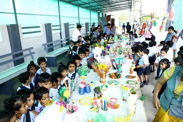 Assisi Vidyaniketan Public School-Crafting Exhibition