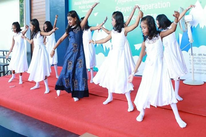Assisi Vidyaniketan Public School-Dance Performance