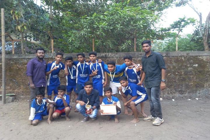 Azad Central School-SportsTeam Winners