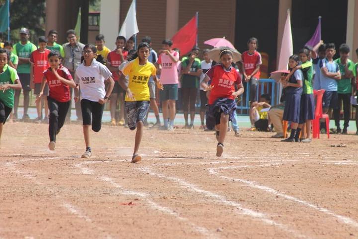 B M M English Medium School-Running Race