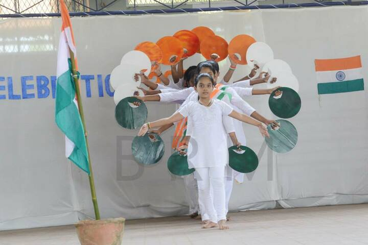 B M Memorial Central School-Independence Day