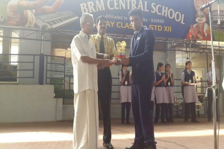 B M Memorial Central School-Prizes