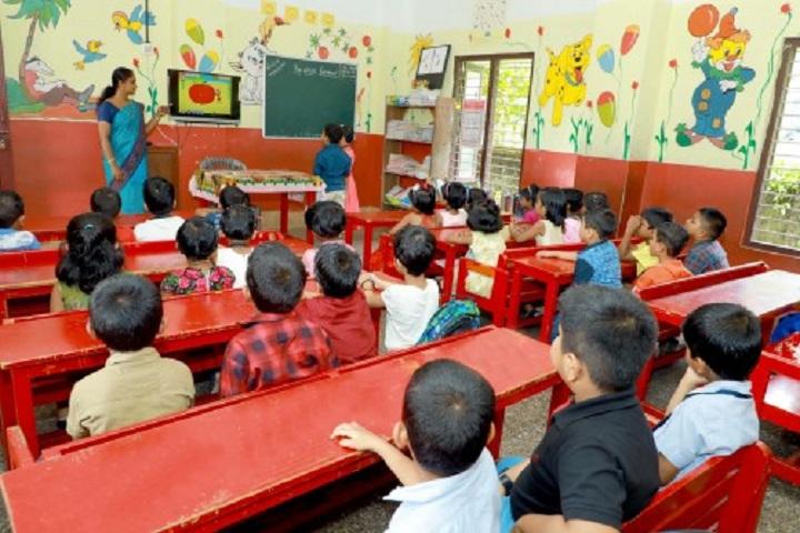 Bappuji Central School-Classroom